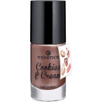 essence Cookies & Cream Lakier do Paznokci Last Night a Cookie Saved My Life 03