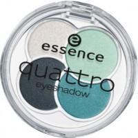 essence Quattro Eyeshadow Zestaw Cieni do Powiek Laugh, Love, Lime 13