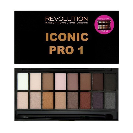 Makeup Revolution Iconic Pro 1 Paleta Cieni do Powiek