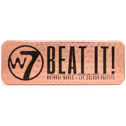 W7 Beat It!  Paleta Cieni do Powiek