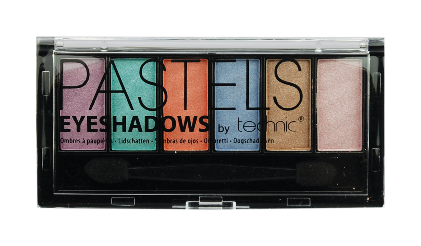 Technic Pastels Eyeshadows Zestaw 6 cieni do powiek